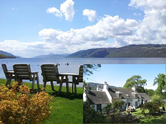 Dores Inn : Great food, fantastic views of Loch Ness