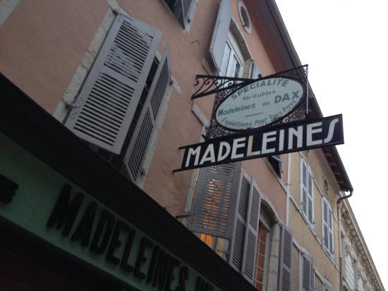 Madeleines de Dax Philippe Cazelle