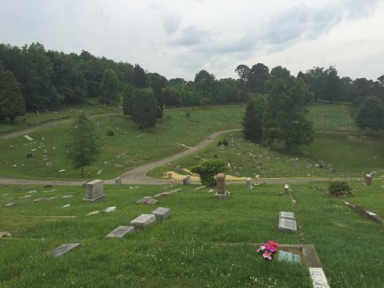 Charleston, WV: I'm not sure who would dub this an ordinary cemetery. The views and sights alike are enough to k