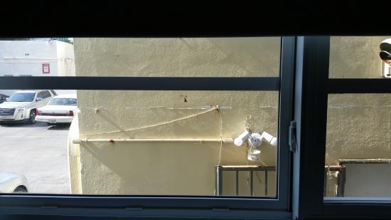 Collins Hotel: Het uitzicht viel tegen