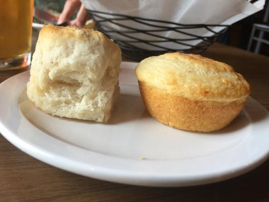 Canton, NC: Biscuits and cornbread