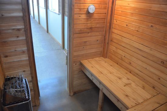Roosevelt Inn & Suites : Sauna