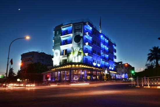 Rise Hotel: The Rise by Night - Exterior Architecture