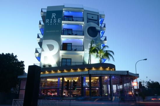 Rise Hotel: The Rise by Day - Exterior Architecture