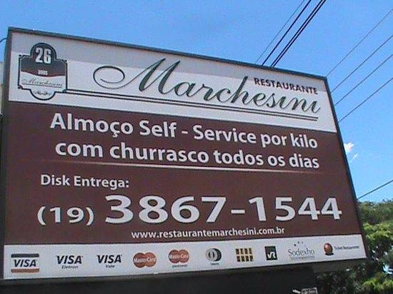 Jaguariuna, SP: Fachada