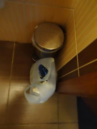 Kuznia Hotel : Zbyt mały kosz na śmieci.