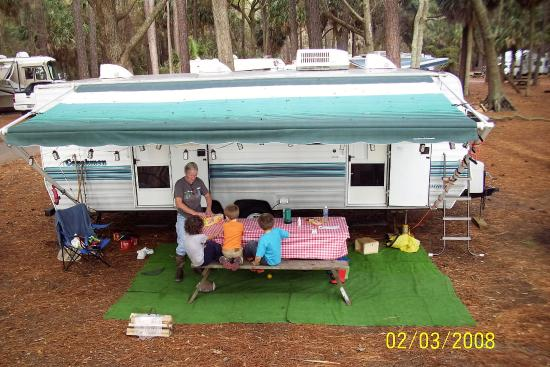 Hunting Island State Park Campground: Nice site
