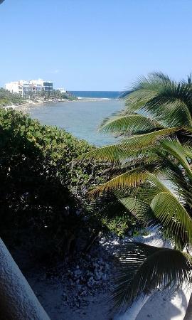 Hacienda de la Tortuga down beach from balcony