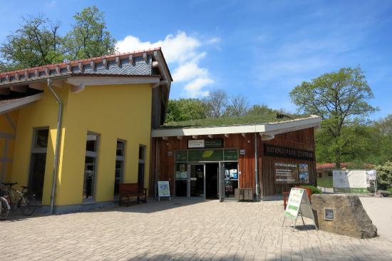 Baumkronenpfad: Nationalparkzentrum