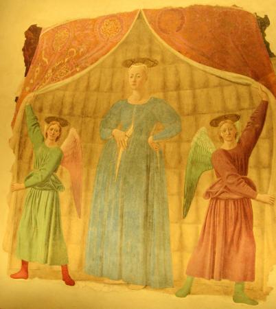 Museo Madonna del Parto: Affresco della Madonna del Parto di Piero della Francesca