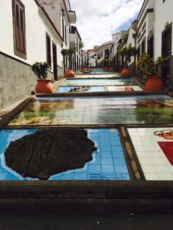Firgas, España: Paseo de Gran Canaria