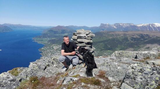 Volda, Norvège : Utsikt vest