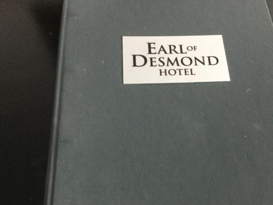 The Earl of Desmond Hotel: Das Hotel