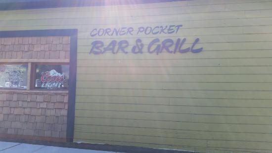 Lyle, Waszyngton: Corner Pocket Bar and Grill