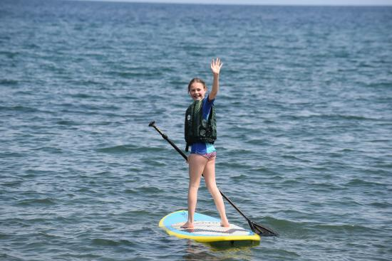 Pumulani: Stand up paddling ist inklusive