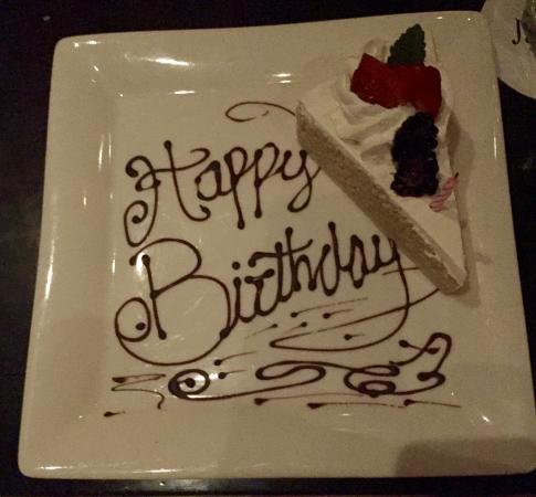 Enjoyable Birthday Cake Picture Of Javiers Restaurant San Jose Del Cabo Funny Birthday Cards Online Inifofree Goldxyz
