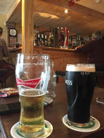 Moycullen, Irland: Great pint of Guinness here. 👍🏽