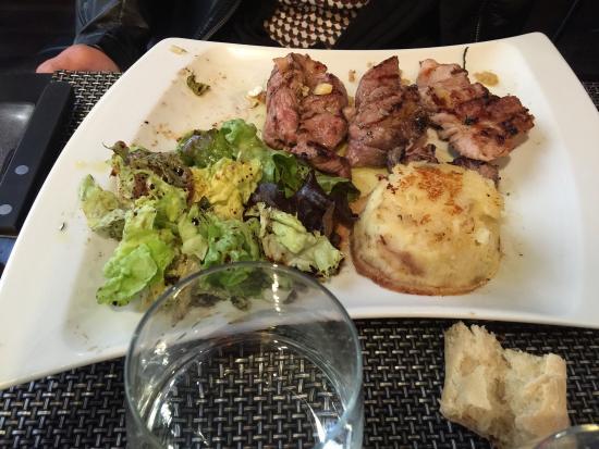 Menu A 25 Euros Picture Of Le Grill Au Thym Bordeaux Tripadvisor