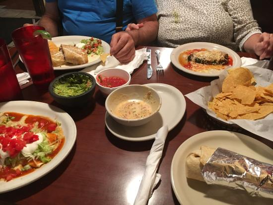 Tequilas Mexican Restaurant Menu Gastonia Nc
