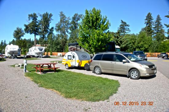 Columbia Falls RV Park: Our campsite
