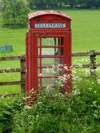 Skenfrith, UK: The village phonebox