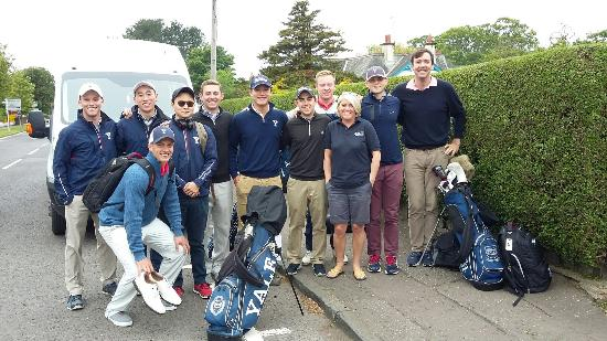 Devine Bed and Breakfast: Yale University Golf Team, it was great having you all to stay,  thanks for choosing Devine B&B.