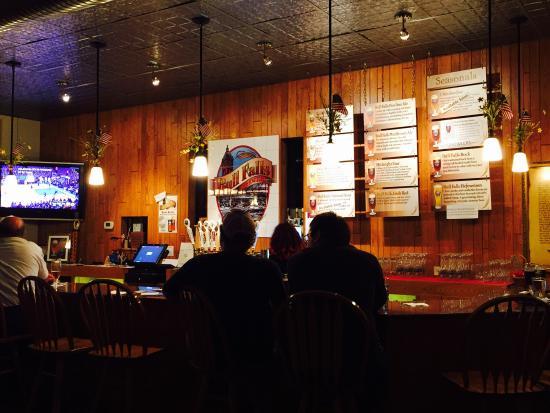 Wausau, WI: Bull Falls Brewery