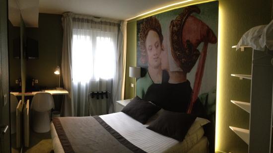 Hotel Cecyl: Chambre 206