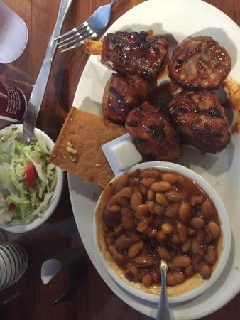 Dodgeville, WI: Local beers, brisket to die for and pork spare riblets!