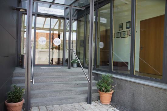 Landhotel Schöll: Hoteleingang