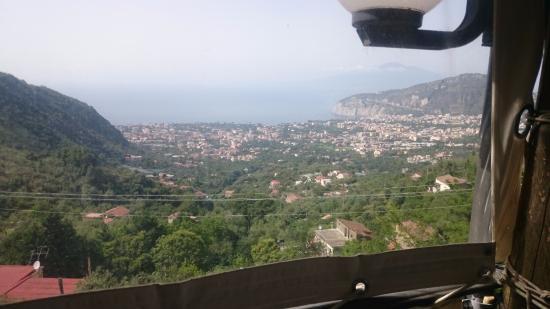 Sant'Agnello, Italia: Vista dal terrazzino