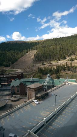 Black Hawk, CO: This is my room with a view (of the parking lot).