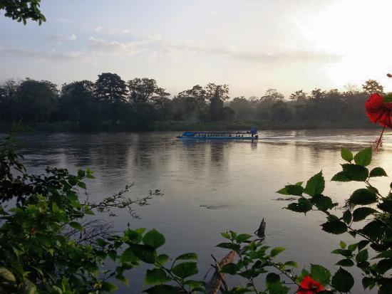 Boca Sabalos, Nikaragua: View of Rio San Juan from Reserva Silveste Privda Montecristo