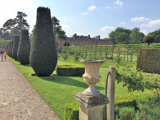 Wrexham, UK: Formal Gardens