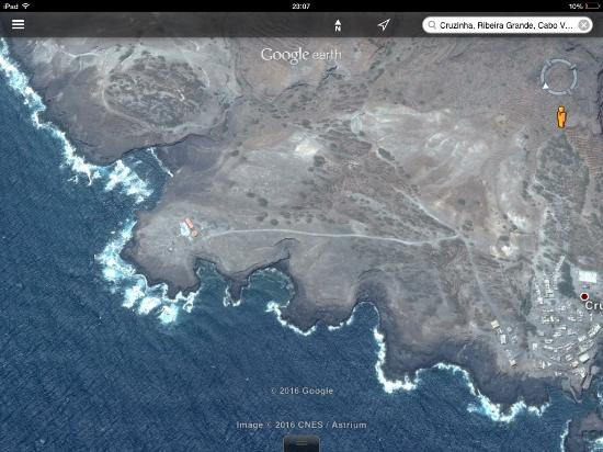 Ponta Do Sol, Cabo Verde: 260 graden zeezicht