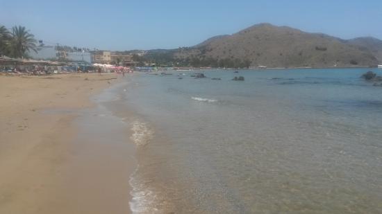 Georgioupolis Beach: Stranden i Georgipolis