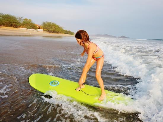Tola, Nicaragua: I taught my gal to surf.