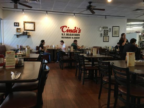 Nice Restaurant Downtown Dallas Picture Of Cindi S Ny Deli