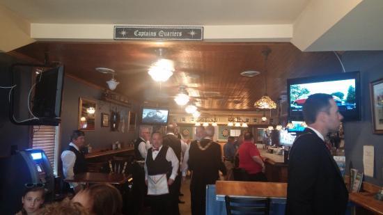 Sharpsburg, MD: Inside at bar