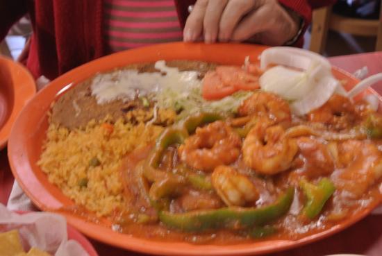 Waseca, MN: shrimp diabla