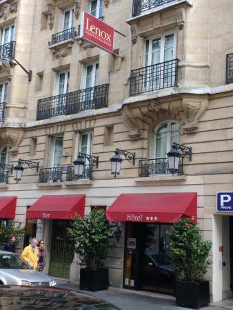 foto tomada desde la calle picture of lenox montparnasse paris rh tripadvisor com