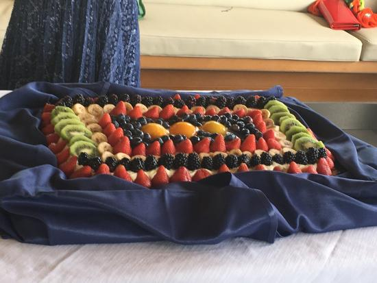 San Giusto Canavese, อิตาลี: Una torta alla frutta ....spettacolare!!!! Nel gusto e nella visione
