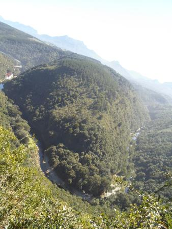 Wilderness, Sudáfrica: Mapa de África