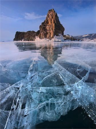 Озеро Байкал, Россия: Frozen Lake Baikal