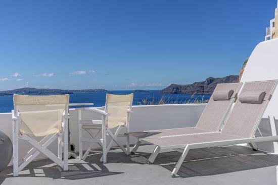 Residence Suites: Aussicht vom Zimmer mit privater Terrasse