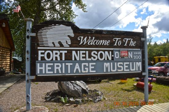 Fort Nelson Heritage Museum: About 300 miles from Dawson Creek