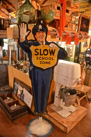 Fort Nelson Heritage Museum : lots of old interesting stuff