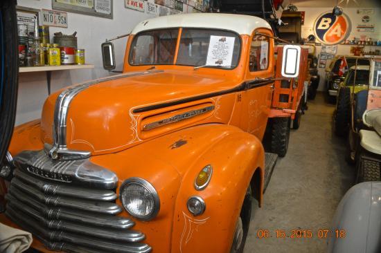 Fort Nelson Heritage Museum : Mercury pickup truck