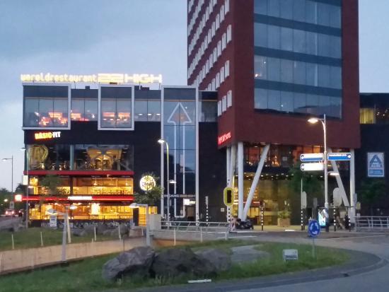 Mercure Hotel Amersfoort Centre: Hôtel et salle de sport au 1er étage