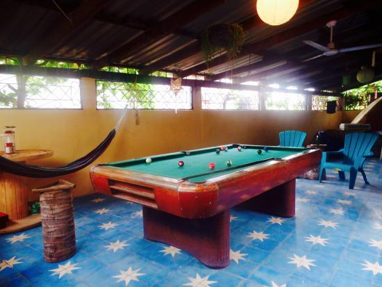 Pool Table Hang Out Spot Picture Of Casa De Canela El Cuco - El pool table